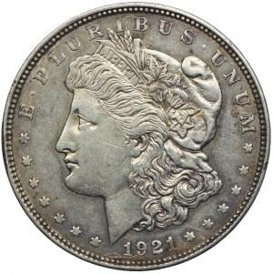 USA, 1 dolar 1921, Denver