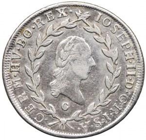 Austria, Józef II, 20 krajcarów 1785, Nagybanya