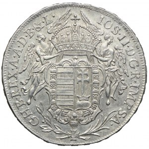 Węgry, Józef II, 1/2 talara 1782, Kremnica