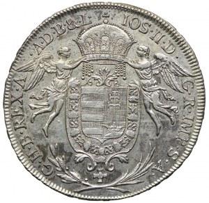 Węgry, Józef II, 1/2 talara 1787, Wiedeń