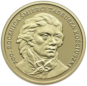 200 złotych 2017, 200 rocznica Śmierci Tadeusza Kościuszki