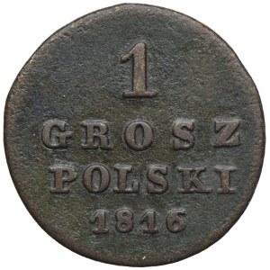 Królestwo Kongresowe, Aleksander I, 1 gosz 1816 IB, Warszawa