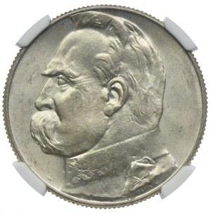 5 złotych 1934, Józef Piłsudski, NGC MS64
