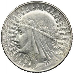 5 złotych 1934, Głowa Kobiety