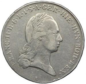 Niderlandy Austriackie, Franciszek II, talar 1796, Wiedeń