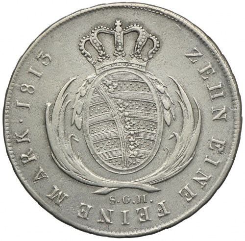 Niemcy, Saksonia, Fryderyk Augusy I, talar 1813 SGH, Drezno