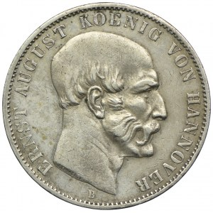 Niemcy, Hanower, Ernest August I, talar 1851, Hanower