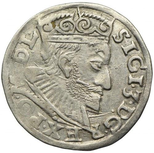 Zygmunt III Waza, trojak 1593, Poznań