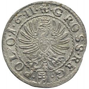 Zygmunt III Waza, grosz 1611, Kraków