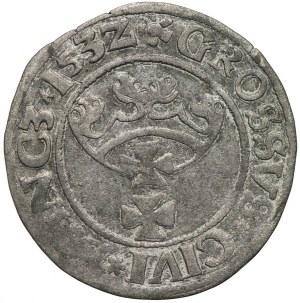 Zygmunt I Stary, grosz 1532, Gdańsk