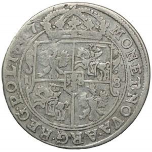 Jan II Kazimierz, ort 1667, Bydgoszcz