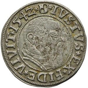 Prusy Książęce, Albert Hohenzollern, grosz 1542, Królewiec