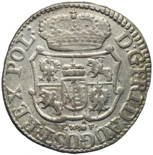 August III, 1/24 talara (grosz) 1754, Drezno