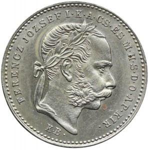 Węgry, Franciszek Józef I, 20 krajcarów 1872, Kremnica
