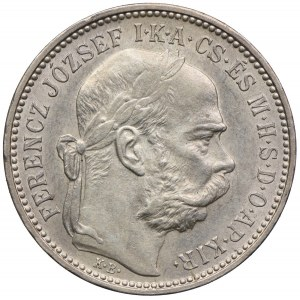 Węgry, Franciszek Józef I, 1 korona 1894, Kremnica