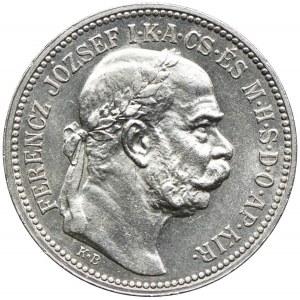 Węgry, Franciszek Józef I, 1 korona 1915, Kremnica