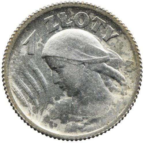 1 złoty 1924, Paryż, Kobieta i kłosy