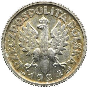 1 złoty 1924, Kobieta i kłosy