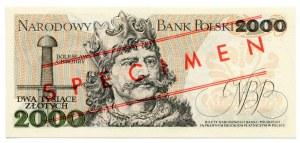 Wzór 2000 złotych 1979 - S -