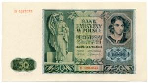 50 złotych 1941 - B -