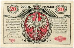 20 Marek Polskich 1916, jenerał, seria A
