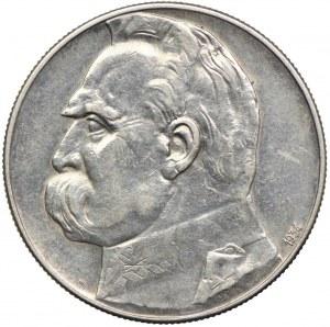 10 złotych 1934, Józef Piłsudski - Orzeł Strzelecki