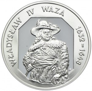 10 złotych 1999, Władysław IV Waza, półpostać