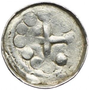 Polska, denar krzyżowy XI wiek