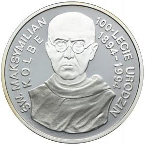 300000 złotych 1994, Św. Maksymilian Kolbe