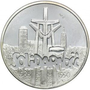 100000 złotych 1990, Solidarność, typ A