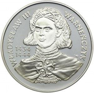 200000 złotych 1992, Władysław III Warneńczyk, popiersie