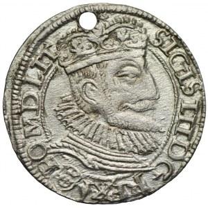Zygmunt III Waza, grosz 1593, Olkusz