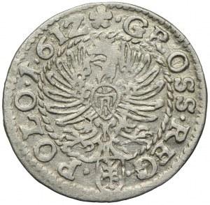 Zygmunt III Waza, grosz 1612, Kraków