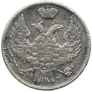Zabór rosyjski, Mikołaj I, 15 kopiejek=1 złoty 1839 MW, Warszawa