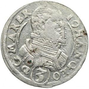 Śląsk, Księstwo Karniowskie, Jan Jerzy, 3 krajcary 1616 CP, Karniów