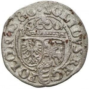 Stefan Batory, szeląg 1586, Olkusz