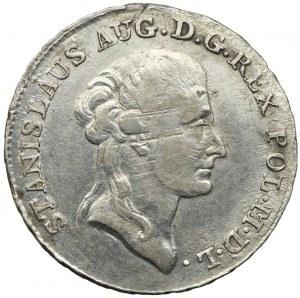 Stanisław August Poniatowski, dwuzłotówka (8 groszy) 1787 EB, Warszawa