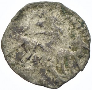 Władysław III Warneńczyk, denar bez daty, Kraków