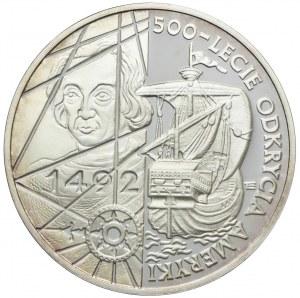 200000 złotych 1992, 500-lecie Odkrycie Ameryki