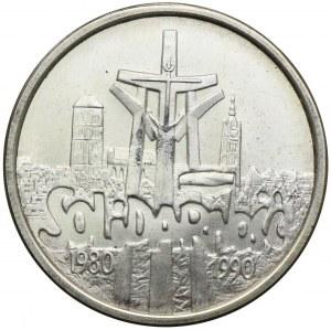 100000 złotych 1990, Solidarność 1980-1990, typ B