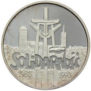 100.000 złotych 1990, Solidarność, (mała)