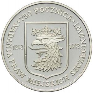 200000 złotych 1992, 750 Rocznica Nadania Praw Miejskich Szczecinowi