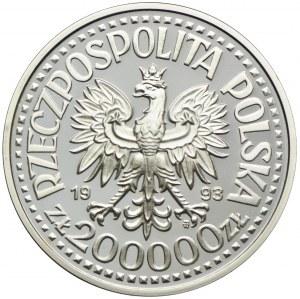 200000 złotych 1993, Kazimierz IV Jagiellończyk, półpostać
