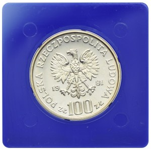 100 złotych 1981, Koń