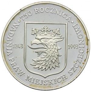 200000 złotych 1993, 750 Rocznica Nadania Praw Miejskich Szczecinowi