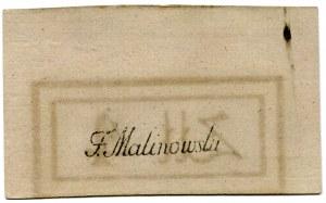 Bilet skarbowy 4 złote 1794 (1)(S)