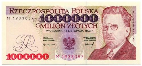 1.000.000 złotych 1993, seria M