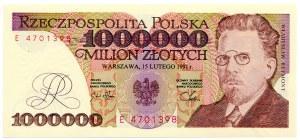 1.000.000 złotych 1991, seria E