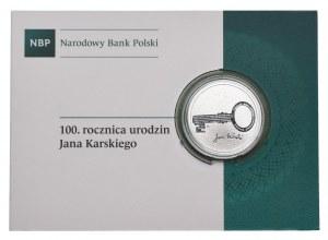 10 złotych 2014, 100. rocznica urodzin Jana Karskiego