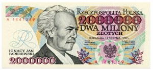 2.000.000 złotych 1992 - A - z błędem